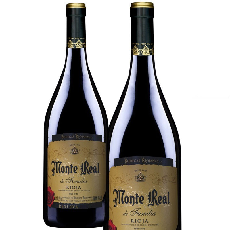 Monte Real Tinto Reserva MAGNUM Botella 1,5 L