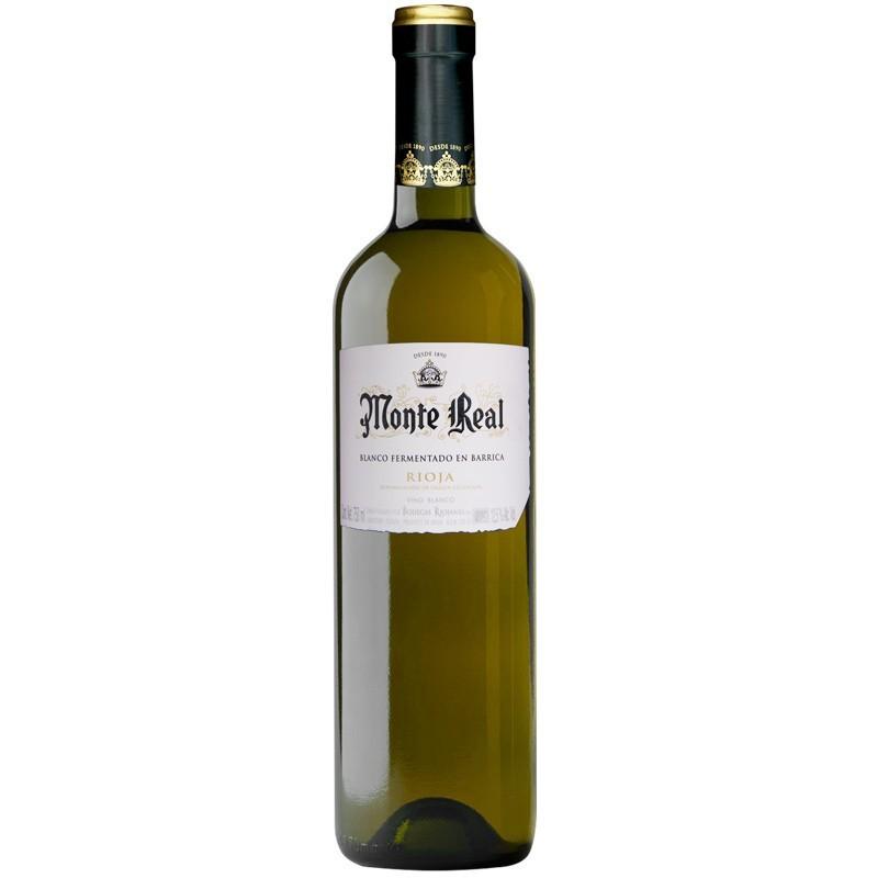 Monte Real Blanco fermentado en barrica Joven Botella 75cl